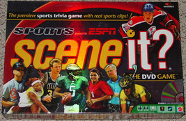 SCENE IT DVD GAME SPORTS ESPN SPORTS TRIVIA 200... - $15.00
