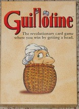GUILLOTINE REVOLUTIONARY CARD GAME 1998 WIZARDS  COMPLETE EXCELLENT - $28.00