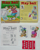 PLAY BALL NUMBERS CARD GAME  1999 GAMEWRIGHT COMPLETE  - $15.00