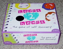 HEART 2 HEART GAME OF SELF DISCOVERY 2008 DISCOVERY BAYGAMES COMPLETE EX... - $20.00