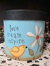 13650 - Love Dream Inspire Box Paper Mache' - $6.95