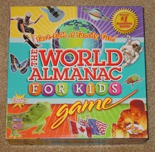 World Almanac For Kids Game 2004 Master Pieces Puzzle Co Complete Unused - $15.00