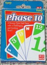 PHASE 10 RUMMY TYPE CARD GAME 2004  FUNDEX GAMES COMPLETE EXCELLENT - $10.00