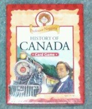 PROFESSOR NOGGINS HISTORY OF CANADA CARD GAME 2011 OUTSET MEDIA COMPLETE - $20.00