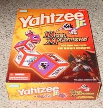 YAHTZEE JR DUEL MASTERS DICE GAME 2004 HASBRO EXCELLENT - $10.00