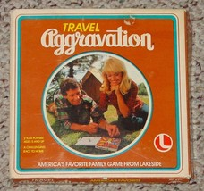 Aggravation Travel Aggravation Game 1980 Lakeside Games Complete Excellent - $20.00