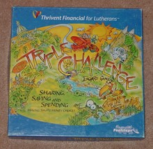 Triple Challenge Board Game Thrivent Financial For Lutherans Complete Excellent - $20.00