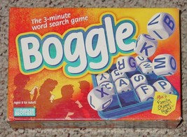 BOGGLE WORD DICE GAME 1999 PARKER BROTHERS COMPLETE EXCELLENT - $10.00