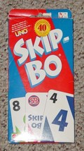 Skip Bo Skipbo Card Game 2003 Mattel  Complete Excellent Lightly Played - $15.00