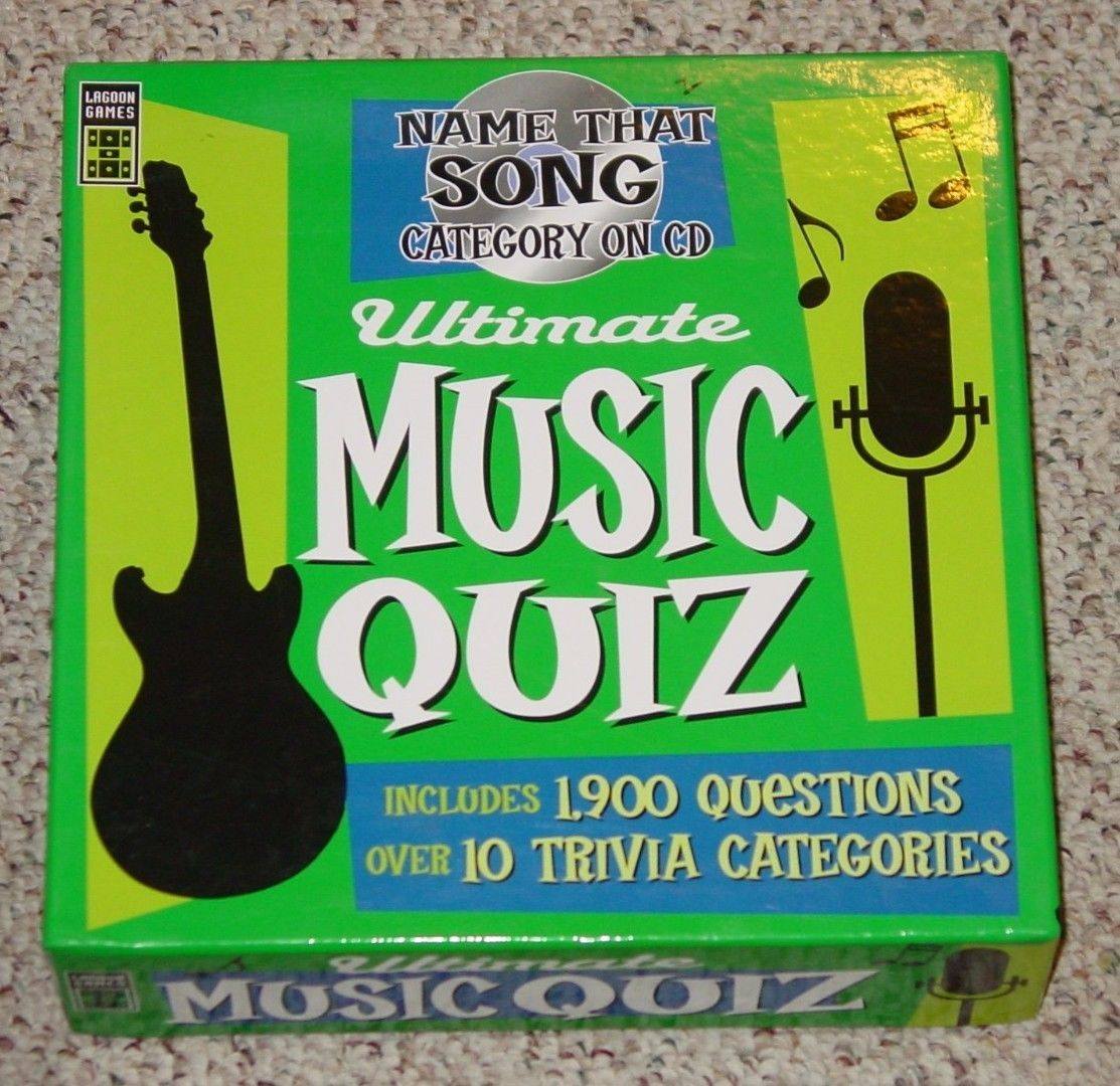 ULTIMATE MUSIC QUIZ  NAME THAT SONG CATEGORY ON CD 2006 LAGOON GROUP