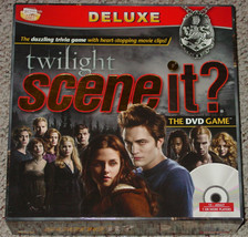 Scene It Dvd Game Twilight Deluxe 2009 Screenlife Complete Lightly Played - $15.00