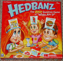Hedbanz Quick Question Game Of What Am I 2010 Spin Master Complete Excellent - $15.00