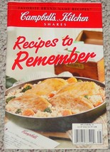 COOKBOOK FAVORITE BRAND NAME RECIPES TO REMEMBE... - $3.00