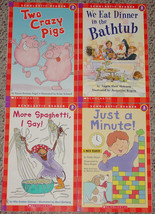 Book Scholastic Reader Level 2 Four Books See Description For Listing Unused - $8.00