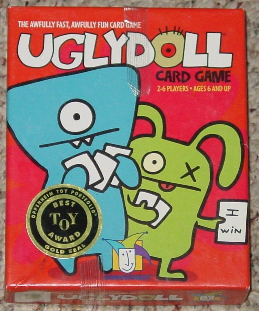 Primary image for UGLYDOLL CARD GAME 2006 GAMEWRIGHT COMPLETE LIGHTLY PLAYED