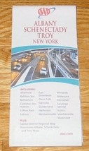 MAP AAA ALBANY SCHENECTADY & TROY NEW YORK 2006 - 2008 EXCELLENT - $5.00