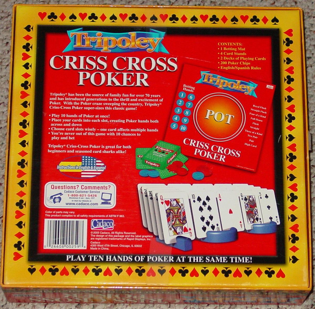 criss cross poker online