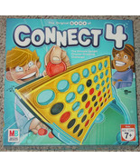 CONNECT 4 GAME 2006 VERTICAL CHECKERS GAME MILTON BRADLEY COMPLETE EXCEL... - £9.13 GBP