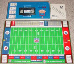 Nfl Vcr Quarterback Nfl Team Football Game 1986 Complete Excellent Condition - $20.00