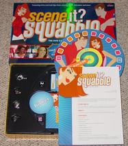 SCENE IT DVD GAME SQUABBLE MATTEL SCREENLIFE 2006 OPEN BOX UNPLAYED image 2