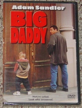 DVD BIG DADDY ADAM SADLER 1999 COLUMBIA PICTURES NEW FACTORY SEALED - $12.00