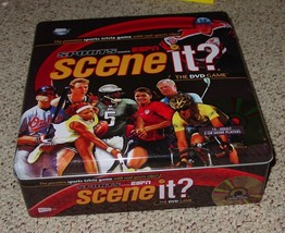 SCENE IT DVD GAME SPORTS ESPN TIN 2006 SCREENLIFE NIB SEALED PARTS COMPLETE - $20.00