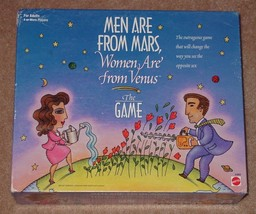 Men Are From Mars Women Are From Venus Game 1998 Mattel  Complete - $5.00