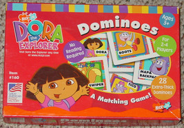 DOMINOES DORA THE EXPLORER DOMINO 2001 MATCHING GAME COMPLETE - $12.00
