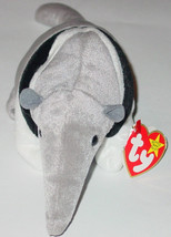 TY BEANIE BABY ANTS ANTEATER beanbag plush Original TAG 1998 PE 4195 4 O... - $10.00
