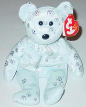 TY BEANIE BABY FLAKY BEAR beanbag plush TAG 2002 10 GEN PE 4572 - $10.00