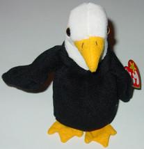 TY BEANIE BABIES Baldy Bald Eagle #4074 1996 BEANBAG PLUSH - $10.00