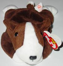 TY BEANIE BABIES Bruno Dog #4183 1997  BEANBAG PLUSH - $10.00