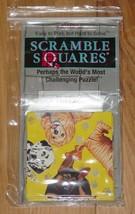 SCRAMBLE SQUARES PUPPIES CHALLENGING PUZZLE 1996 B DAZZLE COMPLETE - $15.00