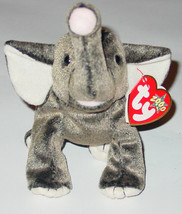 Ty Beanie Baby Trumpet Elephant Beanbag Plush 2000 Tag 2000 Pe 4276 6 Th Gen - $10.00