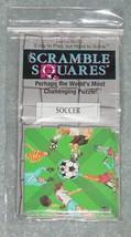 SCRAMBLE SQUARES SOCCER CHALLENGING PUZZLE 2002 B DAZZLE COMPLETE - $15.00