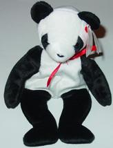 TY BEANIE BABIES Fortune Panda Bear #4196 1998 BEANBAG PLUSH - $10.00
