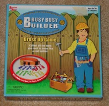 BUSY BUSY BUILDER GAME 2005 UNIVERSITY GAMES COMPLETE EXCELLENT UNUSED - $15.00