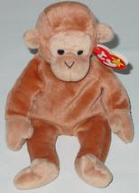 TY BEANIE BABY BONGO MONKEY beanbag 4067 PE 4TH GENERATION TAG 1995 - $10.00
