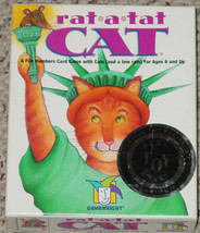 RAT A TAT CAT 2000 GAMEWRIGHT MADE IN USA SEALED CARDS OPEN BOX COMPLETE - $25.00