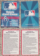 MAJOR LEAGUE BASEBALL TRIVIA CARD GAME INTERNATIONAL PLAYTHINGS 2005 COM... - $10.00