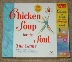 CHICKEN SOUP FOR THE SOUL GAME 1999 CARDINAL W BONUS TEENAGE SOUL CARDS ... - $15.00