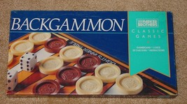 Backgammon Classic Game 1994 Parker Brothers New In Box Sealed - $10.00