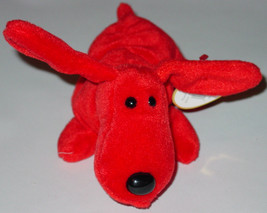 TY BEANIE BABIES Rover Dog  #4101 1996 BEANBAG PLUSH - $10.00