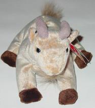 Ty Beanie Baby Goatee Goat Beanbag Plush Original Tag 1999 Pe 4235 Gen 4 Or 5 - $10.00
