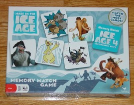 MEMORY MATCH GAME ICE AGE 4 CONTINENTAL DRIFT 2012 CARDINAL COMPLETE EXC... - $12.00