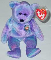 TY BEANIE BABY CLUBBY IV BEAR beanbag 2001 9TH GENERATION TAG - $10.00