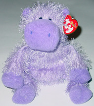 TY BEANIE BABY PUNKIES COLLECTION SLIM HIPPO beanbag plush TAG 2003 PE 0414 - $10.00