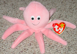 TY BEANIE BABY INKY OCTOPUS beanbag 1993 PVC GENERATION 4 4028 - $10.00