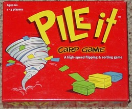 PILE IT CARD FLIPPING & SORTING GAME 2007 FUNSTREET GAMES OPEN BOX SEALE... - $12.00