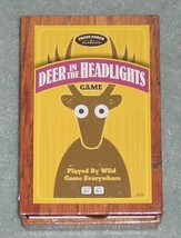 DEER IN THE HEADLIGHTS CARD GAME 2012 UNIVERSITY GAMES FRONT PORCH COMPLETE - $10.00